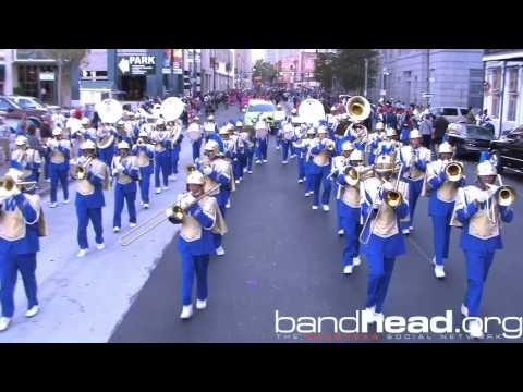 "Sophie B. Wright Playing ""Ring My Bell"" During Bayou Classic Parade 2012"