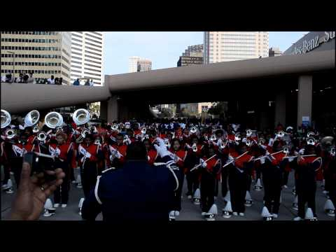 St. Aug vs O.P. Walker Bayou Classic Parade 2012
