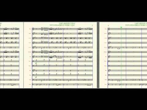 """I GET AROUND"" TUPAC ARRANGED BY: BRANDON G. MITCHELL FOR MARCHING/CONCERT BAND"