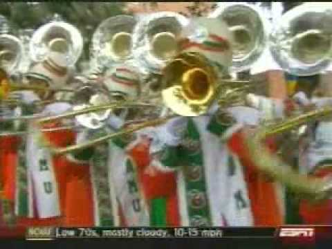 FAMU Band ESPN College Game Day Perfomance