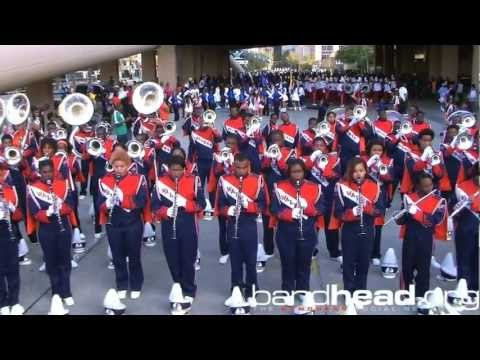 St. Aug vs. O.P. Walker Battle @ Bayou Classic Parade Line-Up 2012