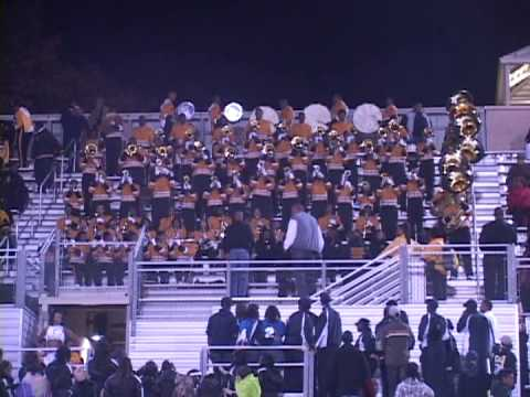 "Whitehaven Marching Band playing ""In The Ghetto"" 2012"