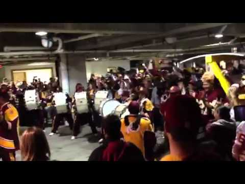 AHHHH DC!!! (RG3 GO-GO Remix) - The Washington Redskins Marching Band Drumline