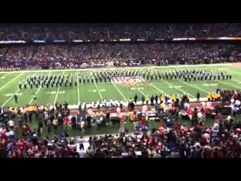 Southern U Human Jukebox Super Bowl 2013