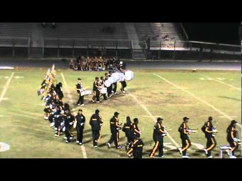 Lakewood Spartan Band Home Game Halftime Show VS. Lennard 10-14-11 (part 1)