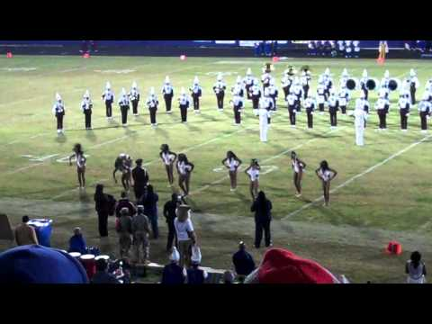Morehouse Band Takes Field Against FVSU - 2011