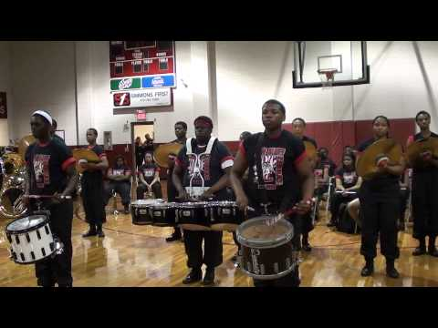 PINE BLUFF HIGH DRUMLINE 2013