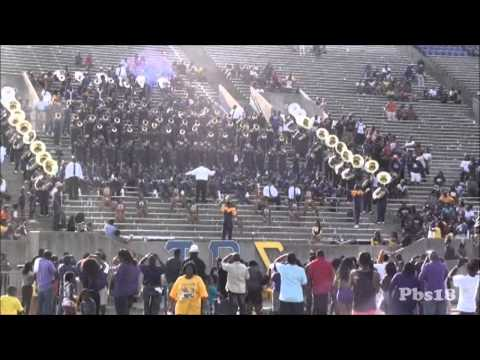 """Alcorn State """"Rub you the right way"""" 2012"""