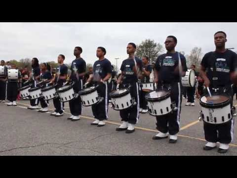 Whitehaven High School BOTD 2013:Parking Lot Battle (Jackson St.) Cadence 1