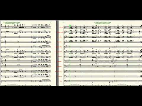 """B*tches Love Me"" Lil Wayne/Future Arr. By Brandon G. Mitchell for Marching Band"