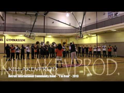 "Detroit International Community Band - ""I'm Real"" - 2013"