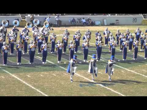 2012 Albany State University- MARCHING RAM SHOW BAND @ 2012 Fountain City Classic