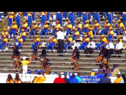 """2012 Marching RAMS Show Band - performing """"I Cant Live"""""""