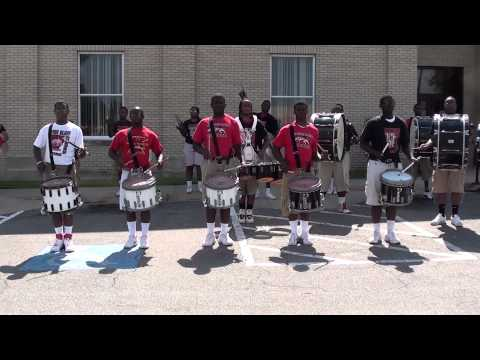 PINE BLUFF MASS DRUMLINE - CR2 2013