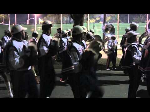 2010 Virginia State University- Trojan Explosion marching out of stadium