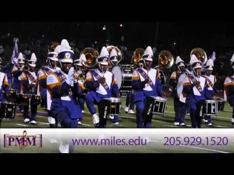 MILES COLLEGE PURPLE MARCHING MACHINE WANTS YOU!!