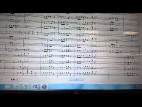 Blurred Lines By Robin Thicke Marching Band Arrangement