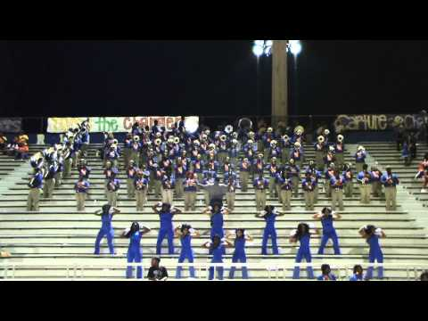 "Landry-Walker H.S. Playing ""Lovely Day"" vs. South Lafourche 2013"