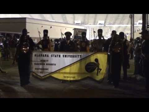 ALABAMA ST MARCHING OUT JACKSON ST GAME 2013
