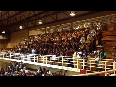 Alabama A&M University Marching Maroon & White x Holy Grail 2013