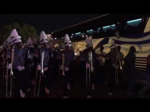 JACKSON ST MARCHING OUT ALABAMA ST GAME 2013