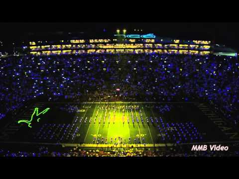 "Michigan band "" Beyonce "" concert halftime show"