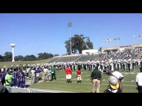 AWESOME Mississippi Valley State University band
