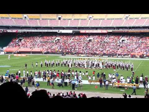 MOREHOUSE COLLEGE vs HOWARD UNIVERSITY Halftime 9/7/2013
