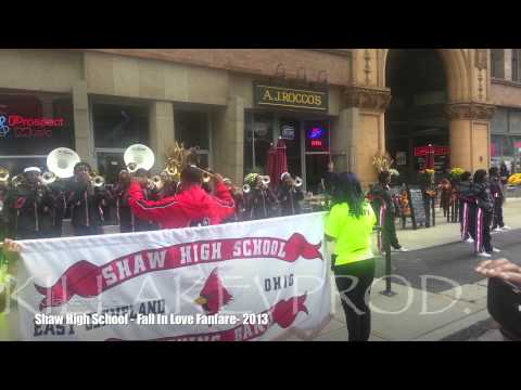 Shaw High School - Fall In Love Fanfare - 2013