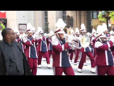 "2013 Atlanta Classic- SCSU ""Marching 101"" performs in the ATL CLassic Parade"