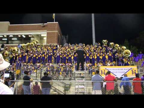 Miles College Band vs Albany State 2013 Heat