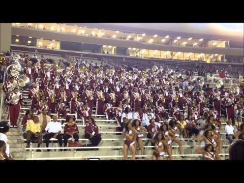 Alabama A&M University Band x I'll Be In The Sky (2013) - Marching Maroon & White