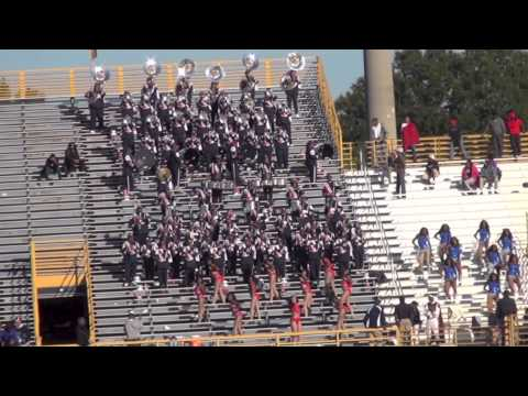 """Howard University """"Showtime"""" Marching Band performing """"Forever My Lady"""""""