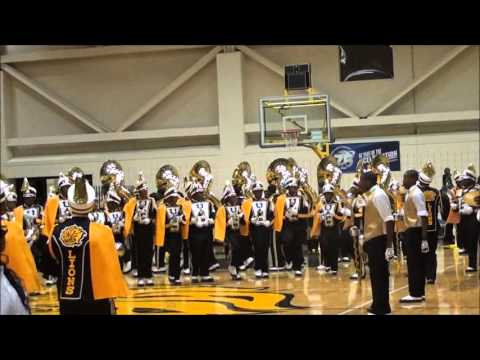 UAPB MARCHING IN BOTB 2013