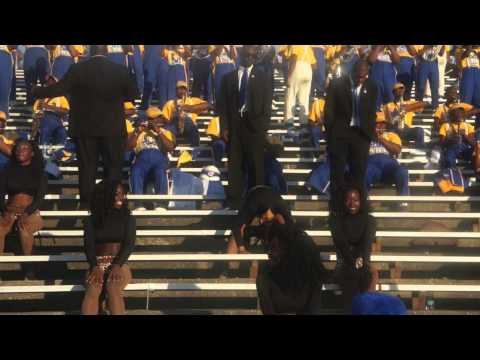 Albany State University- Marching RAMS SHOW Band Featuring The Golden Passionettes