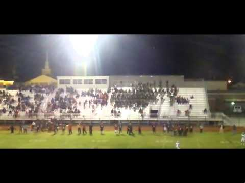 """Baker High School Marching Band 2013 """"In The Air Tonight"""""""