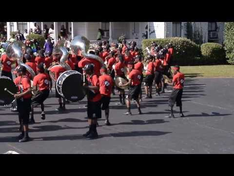 Tri Cities Marching Band 2013- Swang, 007, and Neck against Langston Hughes 2013