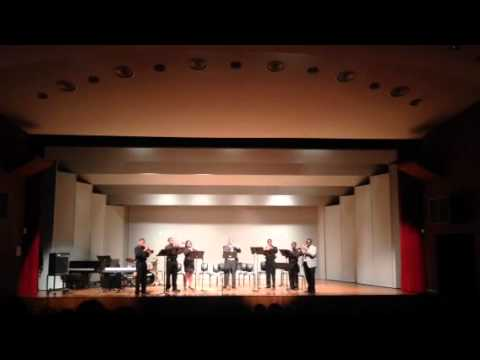 PVAMU trumpet ensemble 2013 Winter concert