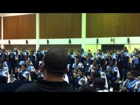"Southern University Human Jukebox 2013 ""On My Grind & Feds Watching"""