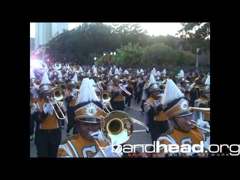 Greenville Playing During Bayou Classic Parade 2013