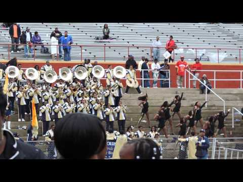 """Locked Out of Heaven""-Stillman College Marching Band 2013 at Tuskegee"