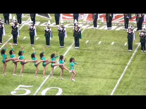 "Mississippi Valley State University- ""Mean Green Marching Machine"" 2013"