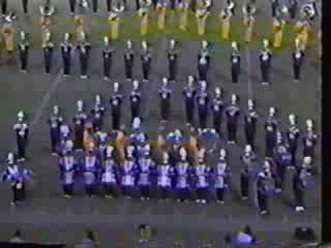 PVAMU Marching Band 1992  Halftime Show