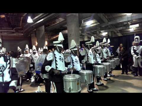 SWAC BOTB 2013 Drumline Tunnel Battle (PV vs ASU vs TSU)