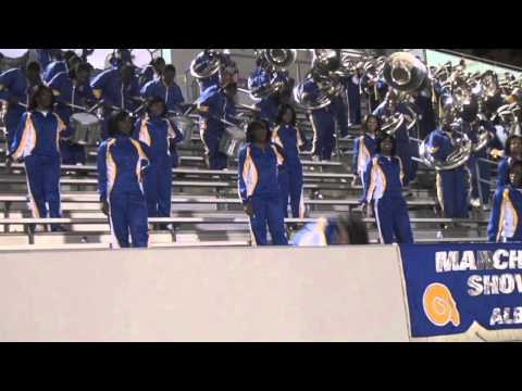 """2011 Albany St. """"Marching RAMS Show Band"""" performing """"Cameo"""" Strange"""