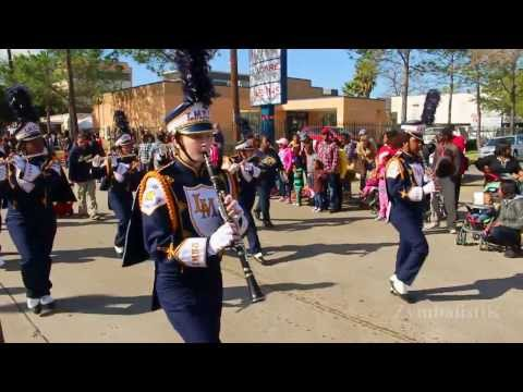 La Marque HS - Houston MLK Parade (2014)