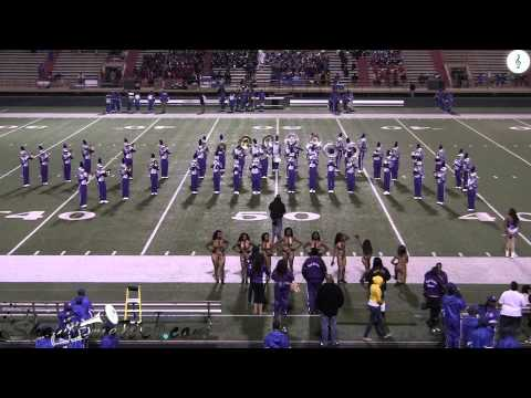 "Dallas Lincoln HS ""Wall of Sound"" MLK BOTB 2014"