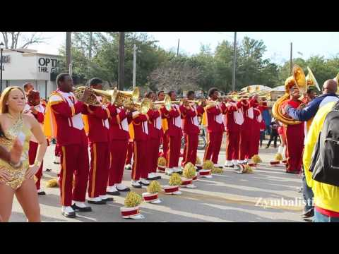 Jack Yates -VS- West Oso - MLK Parade Battle (2014)