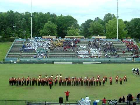 Clarke Central Marching  Band   - Clayton Co. Jamboree 09