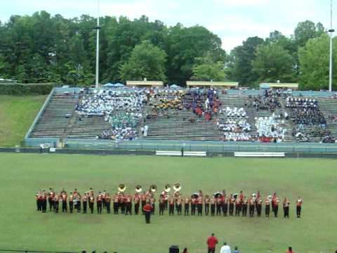 Clarke Central Marching Glads 2009